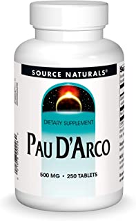 Source Naturals Pau D'Arco Dietary Supplement - 250 Tablets