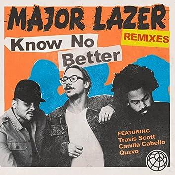 Know No Better (feat. Travis Scott, Camila Cabello & Quavo) [Remixes]