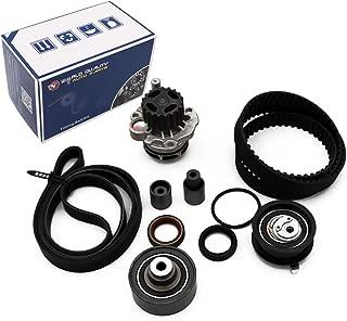 Timing Belt Kit Water Pump w/Belt Roller for 99-04 1.9L ALH VW Golf Jetta Beetle TDI Diesel