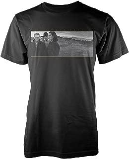 U2 The Joshua Tree The Edge Bono Rock Official Tee T-Shirt Mens Unisex