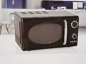 Tarrington House Microondas retro MWDC 6720, 20 litros, 12 programas, color negro