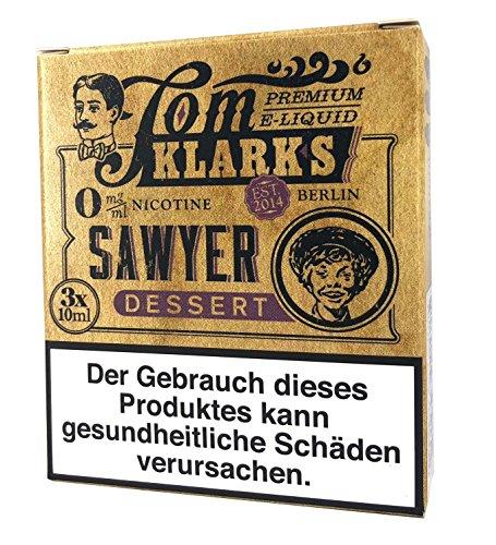 Tom Klark Premium E-Liquid, Sawyer DESSERT, 30 ml