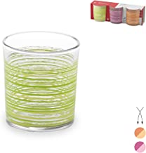 Home 12 Pack Glasses Ribbed CC225 Glass