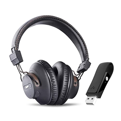 a0204e3aea8 Avantree DG59 Wireless PS4 Gaming Headphones with Bluetooth USB Audio  Transmitter Set for PC Nintendo Switch