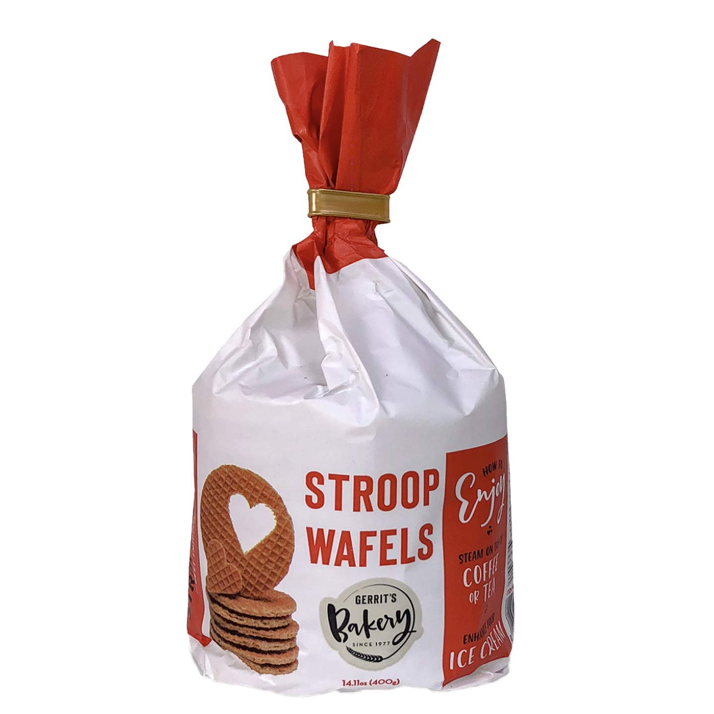 service Stroopwafels Stand up bags - 10 per Special sale item Non GMO bag Hol Baked in