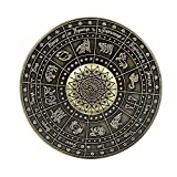 HBBOOI La yema del Dedo Spinner Brújula de Dedo Juguetes Spinner Enfoque Metal yema del Dedo Gyro Reductor de estrés for la ansiedad Centrándose TDAH (Color : Bronze)