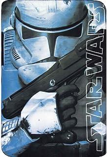 4587-2 スターウォーズ ストームトルーパー フリース ブランケット 毛布 ひざ掛け 100cm x 150cm Disney Star Wars Fleece Blanket [並行輸入品]