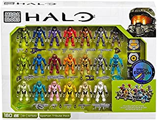 Mega Construx Halo Exclusive Spartan Tribute Set (97520)