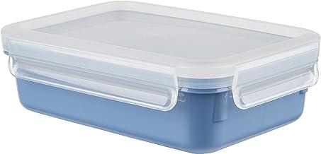 Emsa N1012500 Clip & Close Color Edition vershouddoos, aquablauw, 0,8 liter
