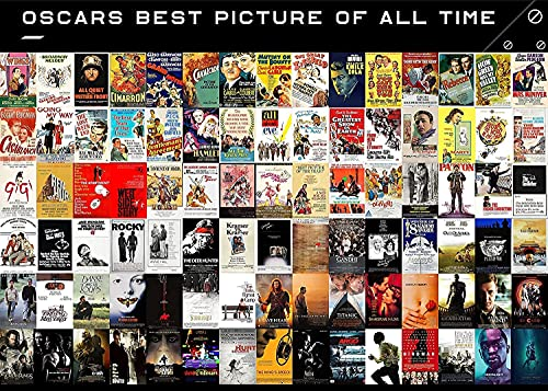 Oscars Best Pictures of All Time Puzzle, 1000 Pieces