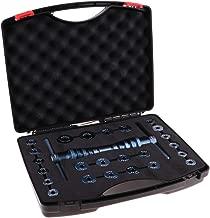 1 Set (25Pcs) Bicycle Bearing Press Kit Installation Tool with Case, Bike Bottom Bracket Hub Bearing Removal & Installer - Professional & Lightweight