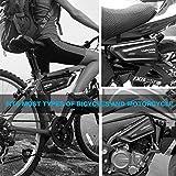 Immagine 1 luroon borsa telaio bici impermeabile