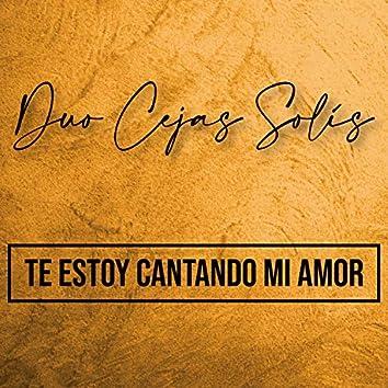 Te Estoy Cantando Mi Amor
