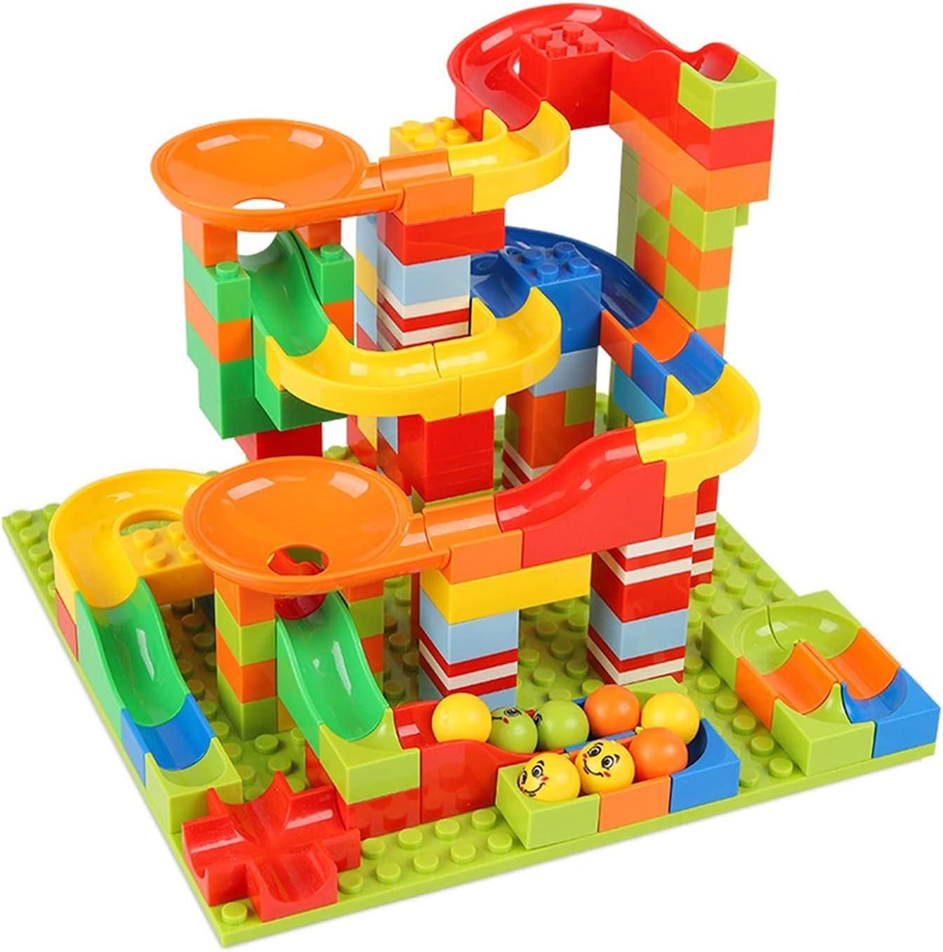 HEMOTONE 330pcs Marble Finally resale start Race Run Maze Building Blocks Factory outlet Ball Track