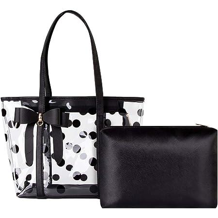 Shidan FM8 Damen Wasserfeste Durchsichtige Einkaufstasche Reise Strand Handtasche Sporttasche