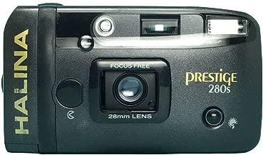 Halina Prestige 280S 35mm Film Camera Vintage Point & Shoot Flash 28mm