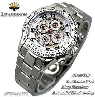 J.HARRISON ジョンハリソン 腕時計 JH-003SW/メンズ/レディース/プレゼント/父の日/ウォッチ/ギフト
