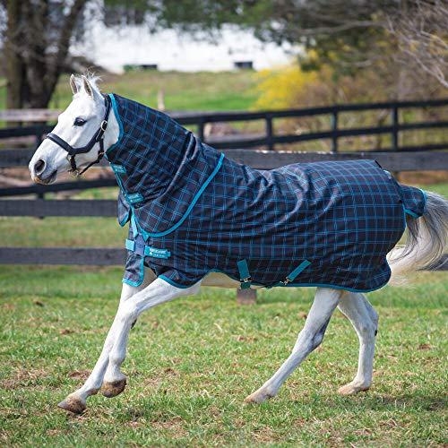 Horseware Amigo Pony Plus 50g - Black Check