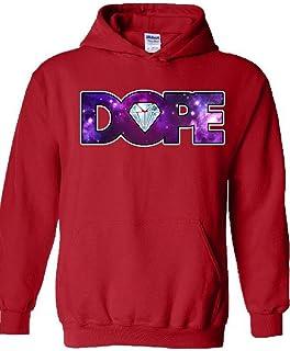 icustomworld Dope Galaxy Diamond sudadera con capucha Hip Hop Música Cool con capucha Sudaderas