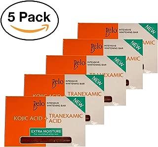 Belo Kojic Lightening Soap Bar PACK OF 5 65g