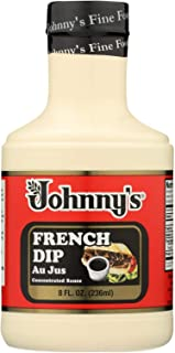 Johnny's French Dip Au Jus Concentrated Sauce - 8 Fl Oz Pack of 1