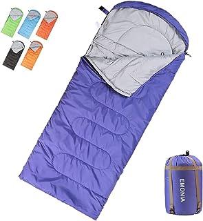 EMONIA Camping Sleeping Bag, 3-4 Season Waterproof Outdoor Hiking Backpacking Sleeping Bag Perfect for Traveling,Lightweig...