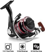Joyday Fishing Reel, Spinning Reel, Ultralight 5.2:1 Gear...