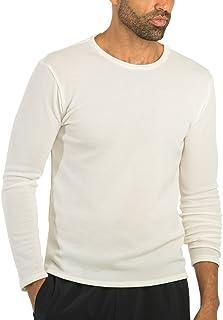 OLIVERS 服装,男士运动美利奴羊毛科技网状终端长袖 T 恤