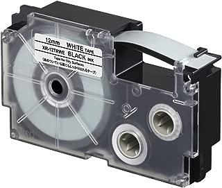 Casio XR-12TRWE Oil Resistant Tape, 5.5 m New, 0 kilograms