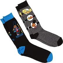 Hey Arnold 2-pack Hustler/Thumb Wiggle Men's Crew Socks