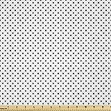 Lunarable Moderner Stoff von The Yard, klassischer Retro