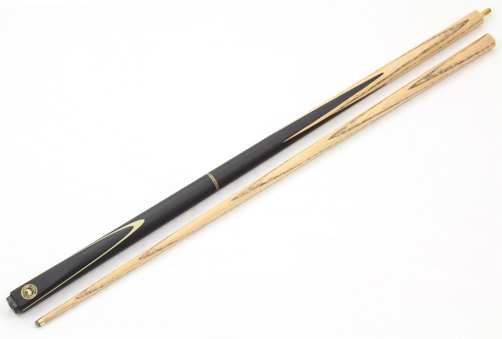 Buffalo Jet Negro 2pc Juego Ash grano billar, pequeño 8,5 mm punta: Amazon.es: Deportes y aire libre