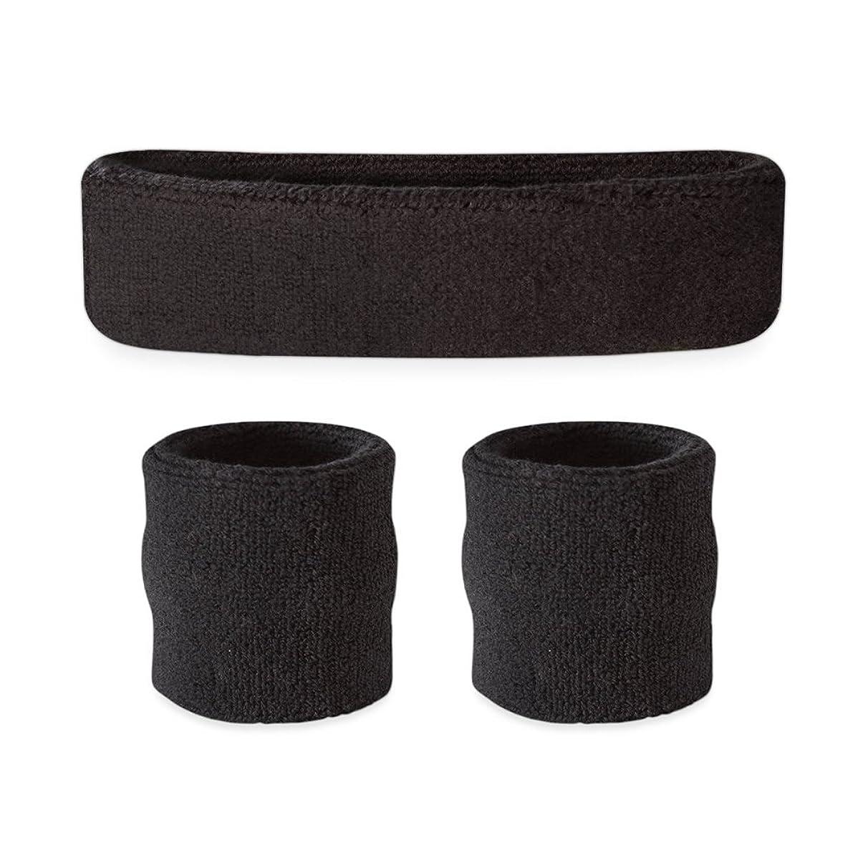 Suddora Kids Sweatband Set (1 Headband / 2 Wristbands)
