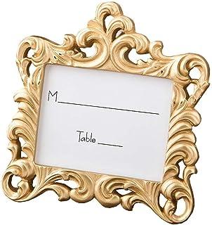 78 Fashioncraft Gold Baroque Style Frame Place Card Photo Holder Wedding Bridal Shower Favors