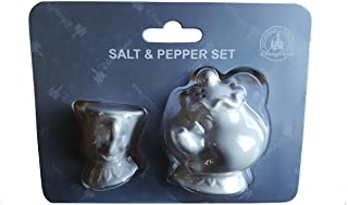 Disney Parks Beauty and The Beast Chip & Mrs Potts Salt / Pepper Shakers NEW
