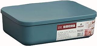 QWEA Panier Rangement,casier Rangement,Les boîtes de Rangement sont en matière Plastique,Stockage de Grande capacité,Range...