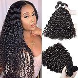 Brazilian Water Wave Bundles (16 18 20) 100% Virgin Unprocessed Wet and Wavy Human Hair Water Wave Curly Hair 3 Bundles