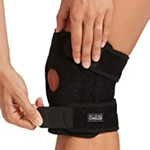 ComfiLife Knee Brace for Knee Pain Relief – Neoprene Knee Brace for Working Out, Running, Injury Recovery – Side Stabilize...