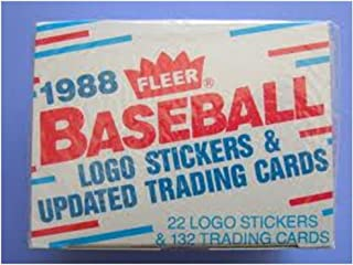 Fleer 1988 Traded Update Baseball Card Set - John Smoltz Rookie