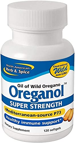 Oreganol P73, Super Strength - 120 Softgels by North American Herb & Spice product image