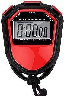CXQWAN Stor stoppklocka, för simning löpning fotboll träning, stötsäker sport stoppur för tränare domare utrustning