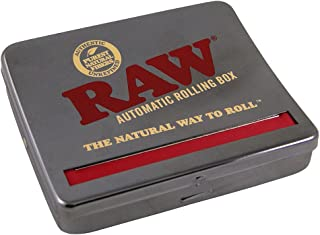 RAW Natural Unrefined Rolling Papers - Automatic Rolling Box - 110mm King Size