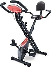 Sportstech X100-B/X150 X Bike 4in1 hometrainer met smartphone-app, uniek trekbandsysteem, handpulssensoren Ergometer, home...