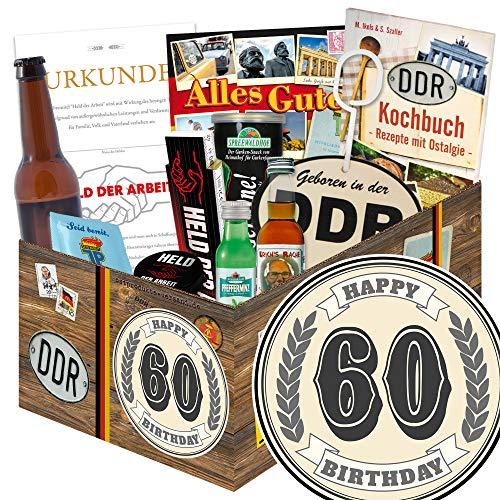60 Geburtstag / Geschenk DDR Männer / 60ter Geburtstag Geschenke