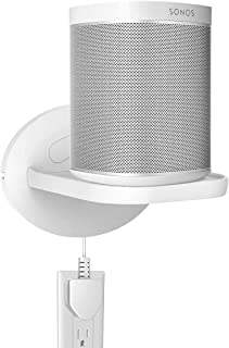 SPORTLINK Wall Mount Compatible with Sonos One Gen 2, Sonos Play:1, Sonos One SL - Upgraded Spaces Saving Wall Bracket Sta...