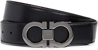 Salvatore Ferragamo Men's Gancini Buckle Reversible Belt