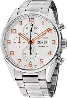Tag Heuer Carrera Silver Dial Stainless Steel Men's Watch CV2A1AC.BA0738
