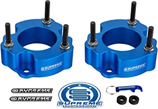 Truxxx 105011-2 leveling kit compatible with both SuperCrew and SuperCab cab styles of 2010-2014 4WD Ford Raptor SVT 6.2