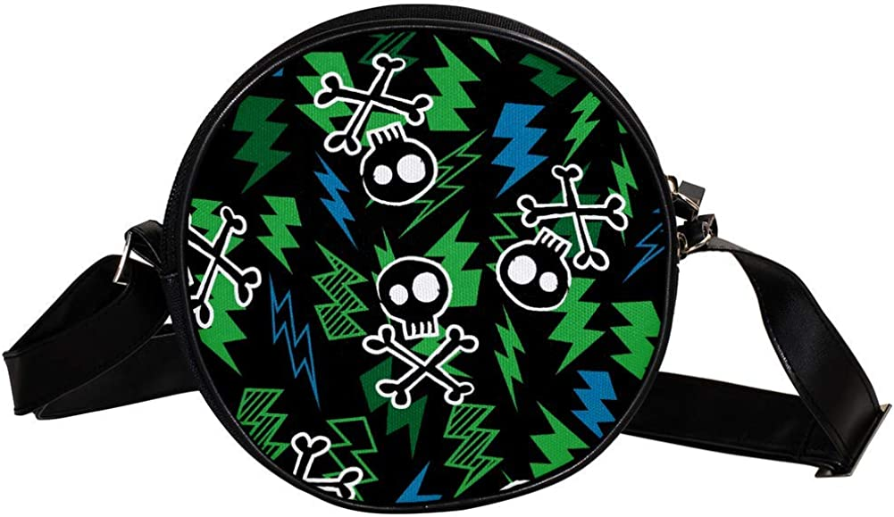 Coin At the price of surprise Purse Direct stock discount For Kids Electric Skull Mini Wall Crossbody Girls Bag