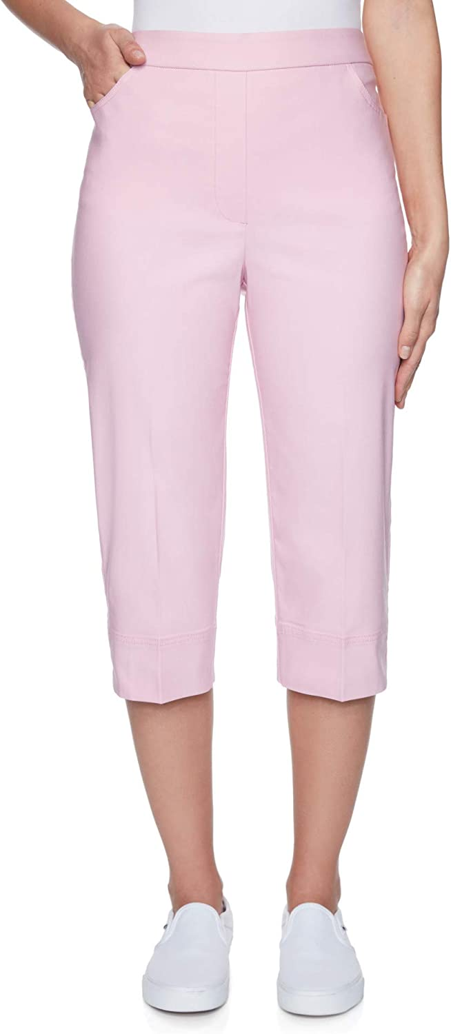 Alfred Dunner Women's Classic Phoenix Mall Fit Las Vegas Mall Digger Clam Allure Pant